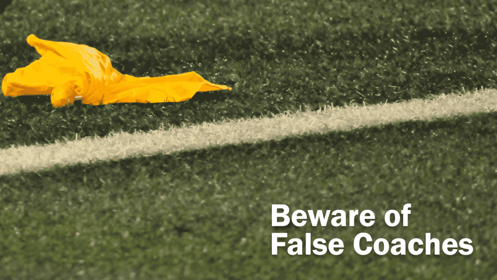 Beware of False Coaches Image
