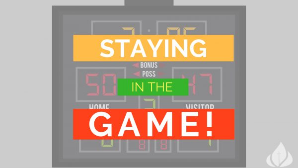 Staying in the Game: Conquering our Fears Image