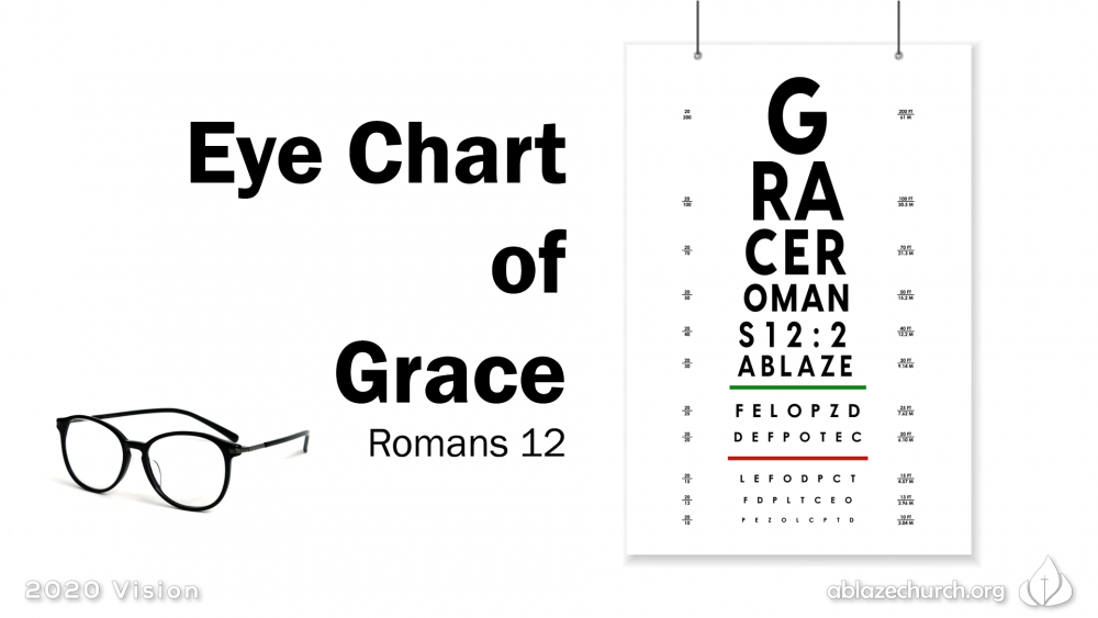 Eye Chart of Grace