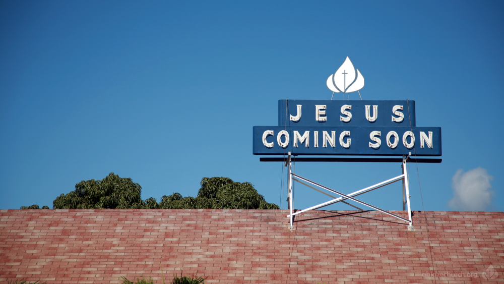 "To the Church in Tulsa Write, ""I am coming soon!"""
